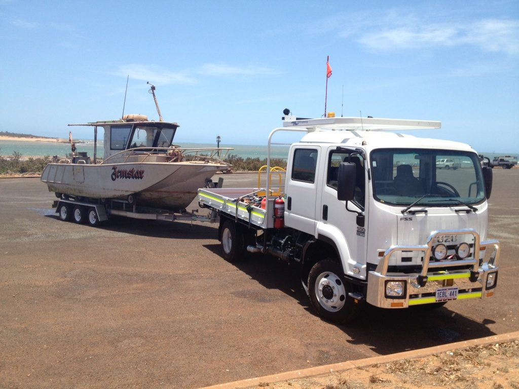 WP Vessel and Truck